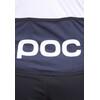 POC Raceday Climber Cykeltrøje korte ærmer Herrer blå/hvid